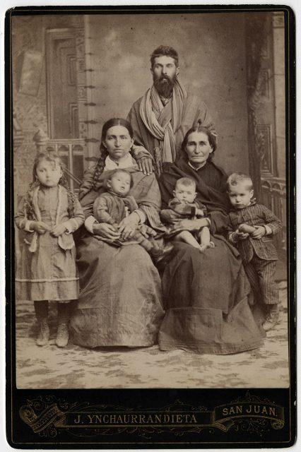 Retrato de una familia obrera