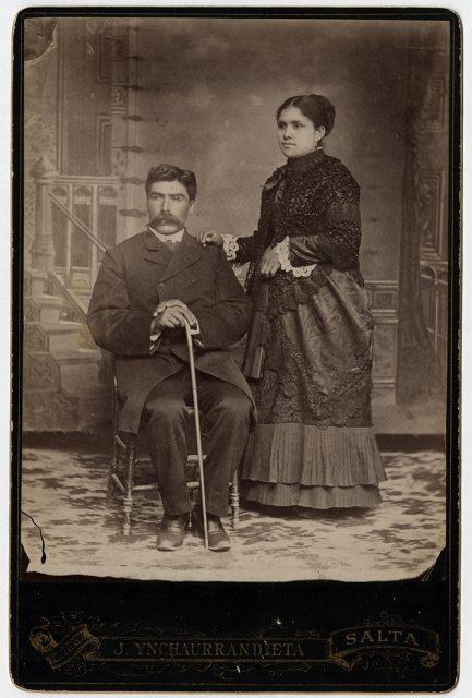Retrato de Manuel Álvarez y su esposa