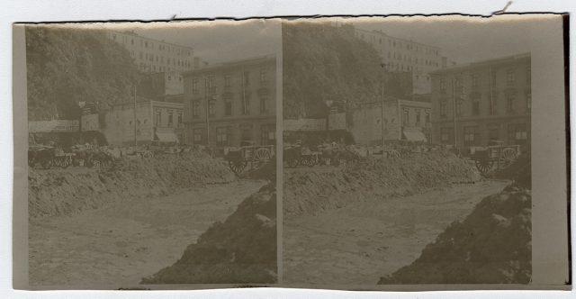 Excavación en una calle