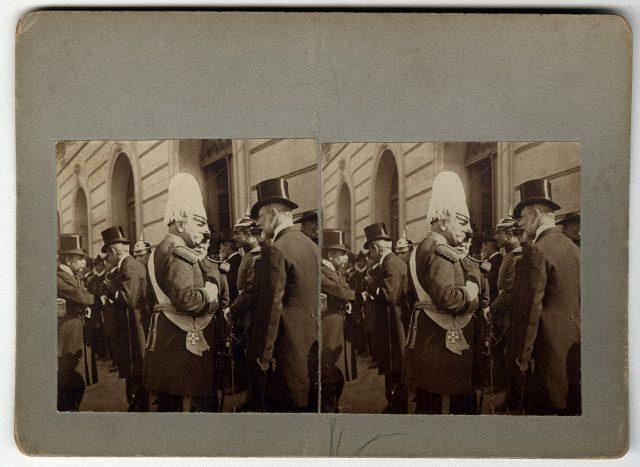 El general Körner y el Intendente Larraín Alcalde