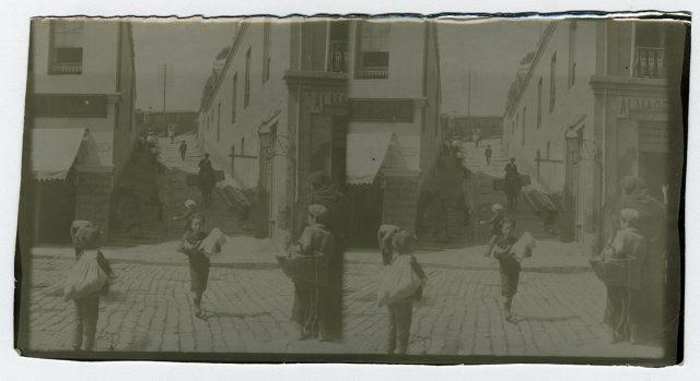 Niños en una calle