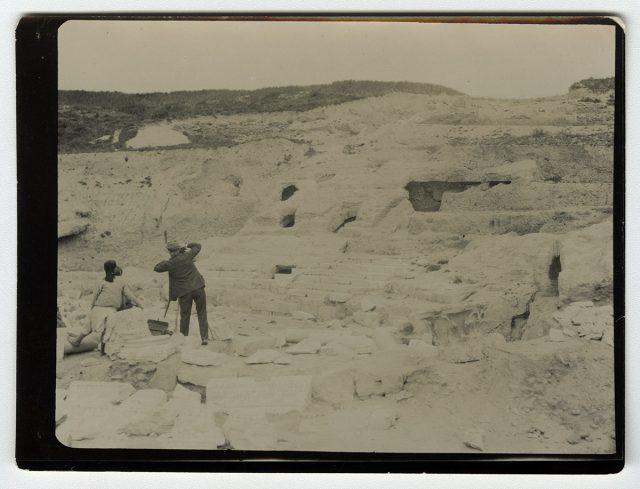 Ruinas de un teatro de Cartago