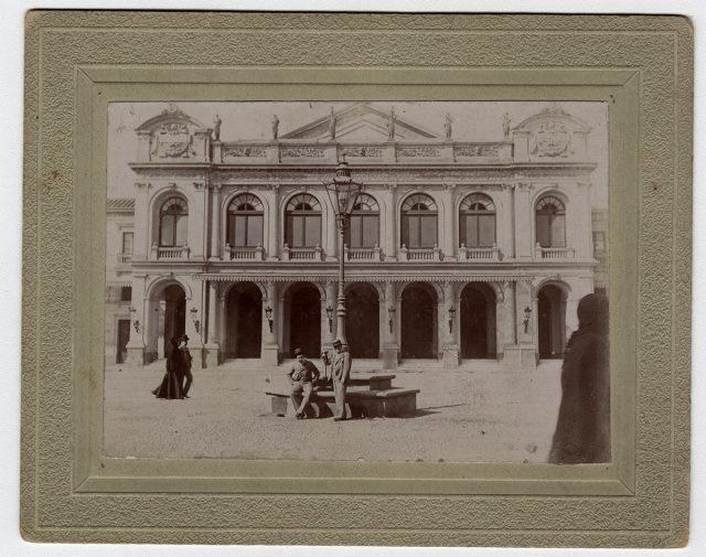 El Teatro Municipal de Santiago