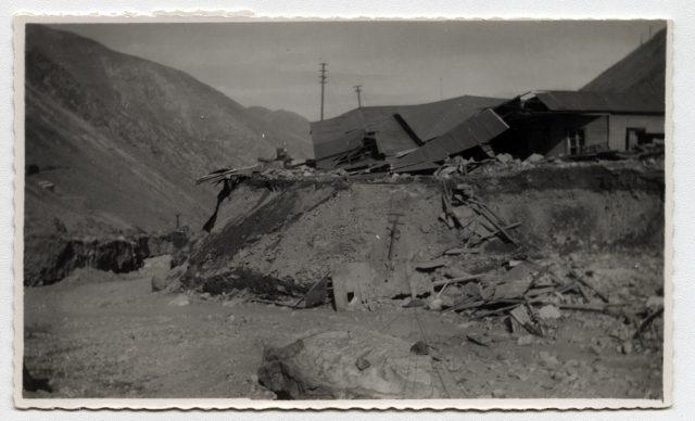 Escombros de una casa