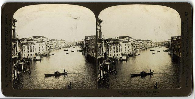 The grand Cañal, Venice, Italy