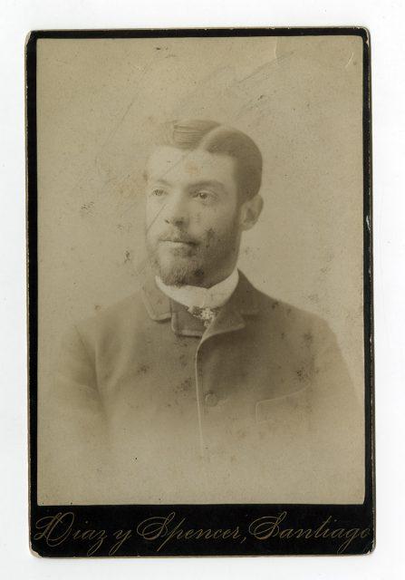Retrato de Ismael Carrasco Bascuñán