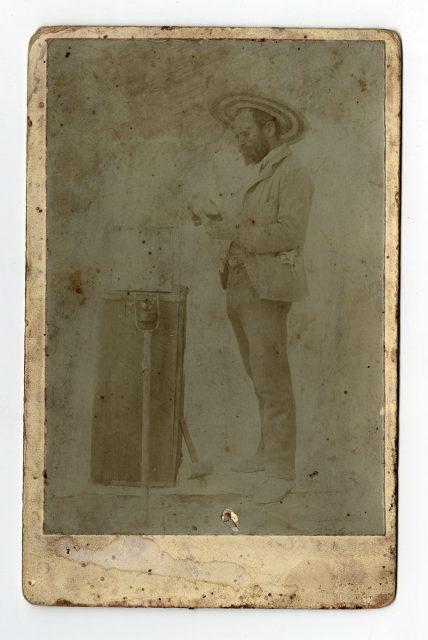 Retrato de Alfredo Campusano