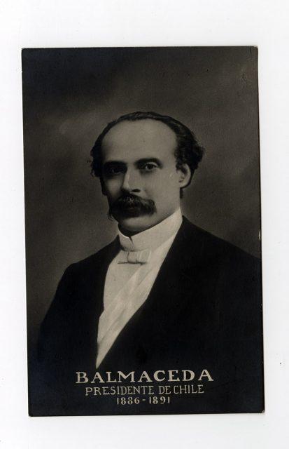 Retrato del presidente Balmaceda