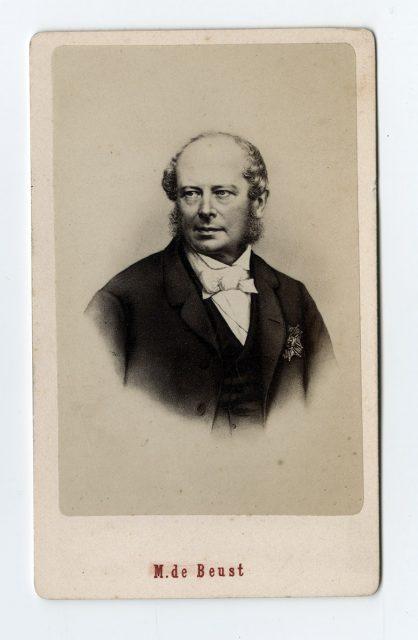 Retrato de M. de Beust
