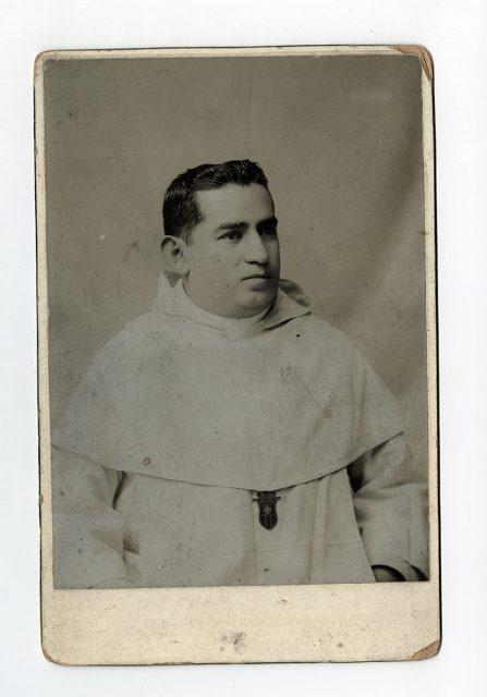 Retrato de Fray Francisco Pedro García Lamas