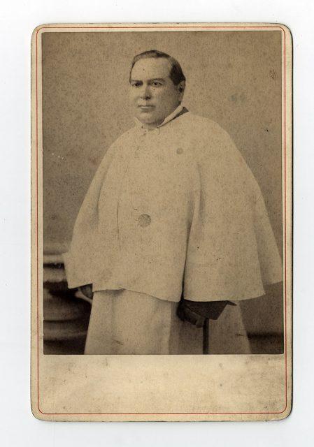 Retrato de Fray Fr. Vicente Amel