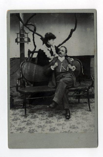 Santiago Miretti y su esposa Lucía Moreno
