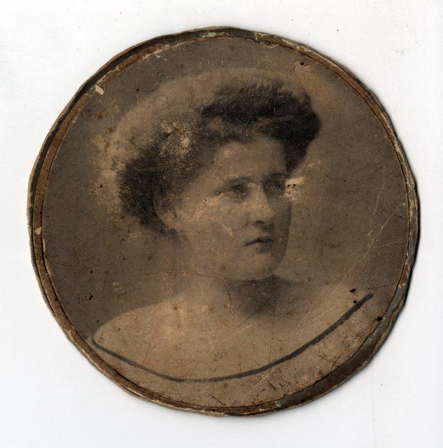 Retrato de Delia de Santa María