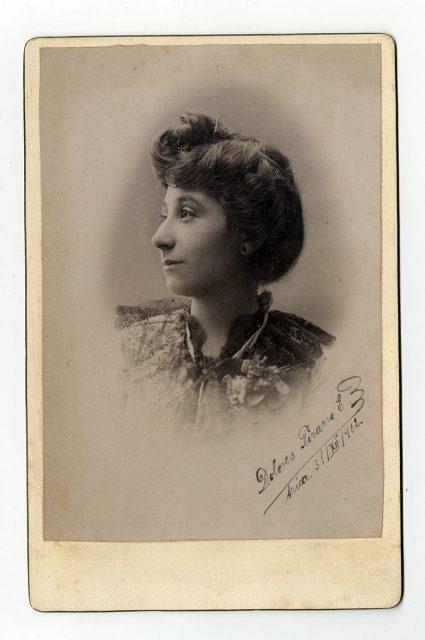 Retrato de Dolores Pizarro E.