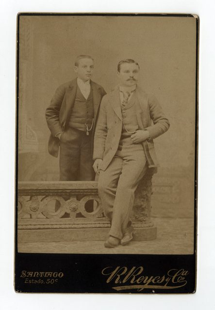 Retrato de dos hombres