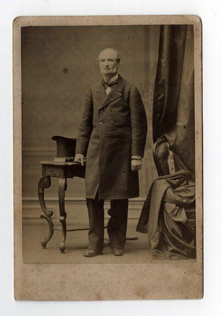 Retrato de Francisco Pérez