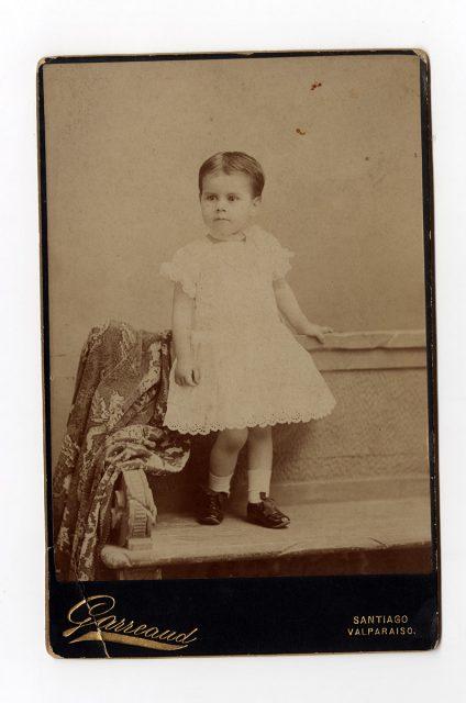 Retrato de Carlota Ibarra Loring