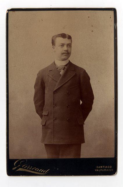 Retrato de Evaristo Guerra Serrano