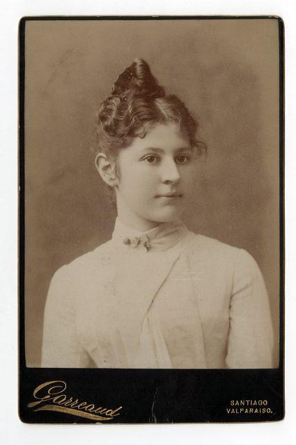 Retrato de Ernestina Guerra Serrano