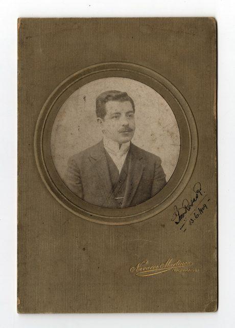 Retrato de G. Rosas P.