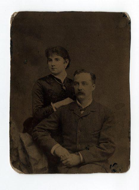 Ricardo Cumming y su mujer.