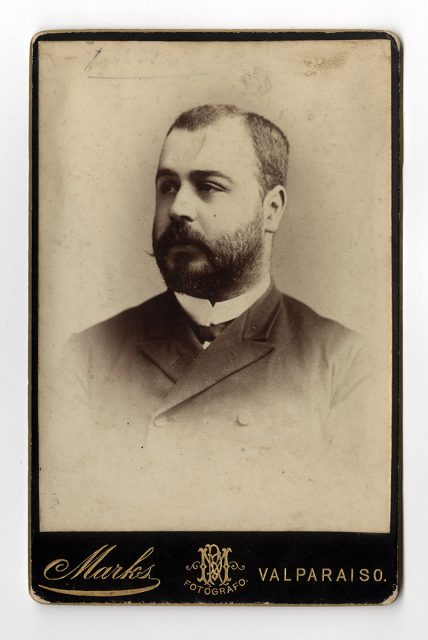 Retrato de Ernesto Rossel P.