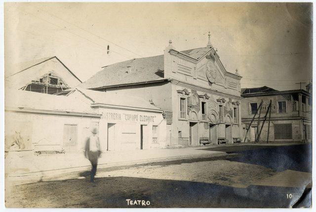 Teatro de Copiapó después del terremoto