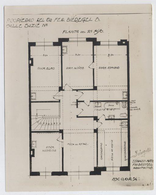 Plano casa de Bieregel – Edwards