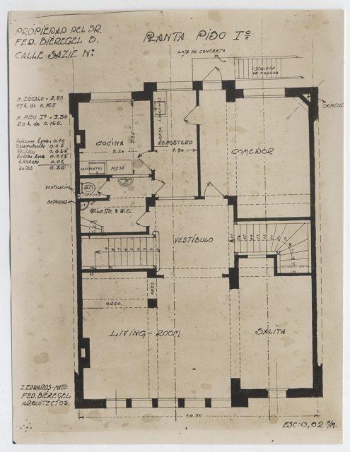 Plano casa Bieregel – Edwards