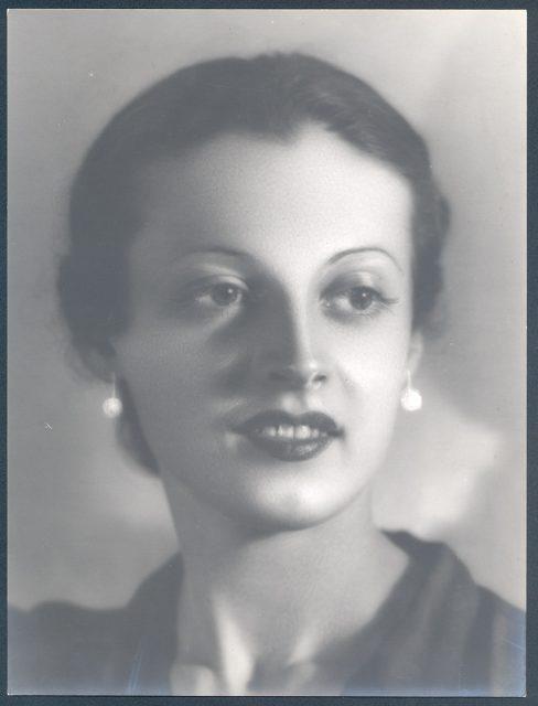 Retrato de Teresa Paulsen C.
