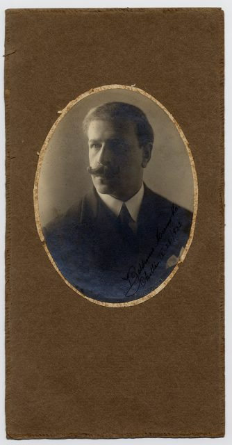 Retrato de Balduino Merino M.