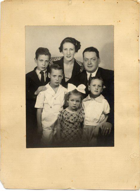 Familia de Edonberto Vargas del Campo