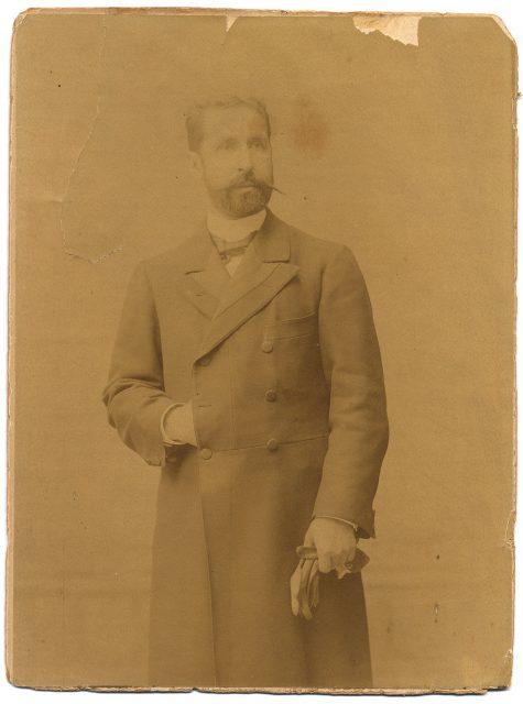 Retrato de Marco Antonio de la Cuadra P.