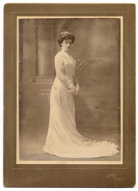 Retrato de Alice de Yemans