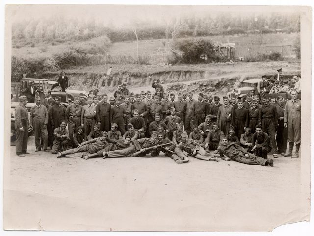 Grupo de soldados