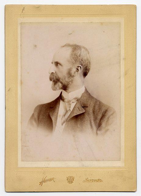 Retrato de Osvaldo Pérez Sánchez