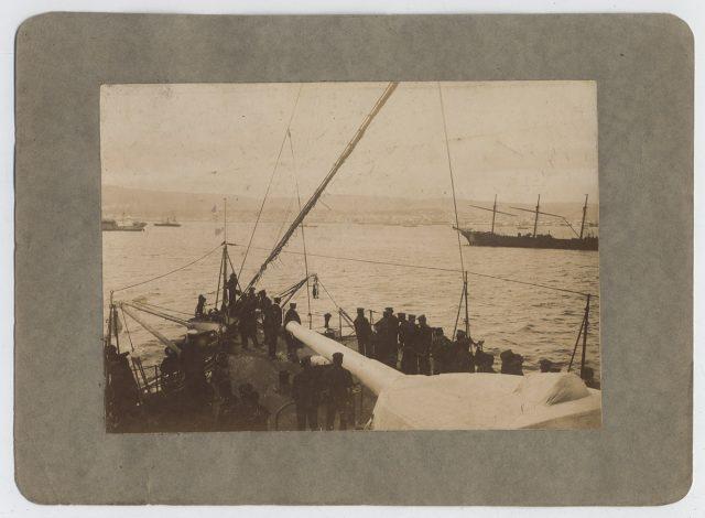 Vista desde un buque