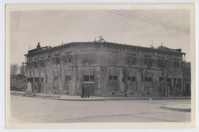 Edificio en mal estado, Punta Arenas