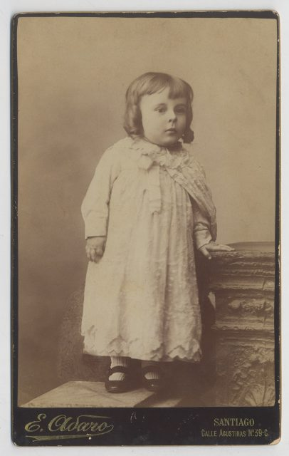 Retrato de Manuel Jesús Santibáñez Riesco de niño