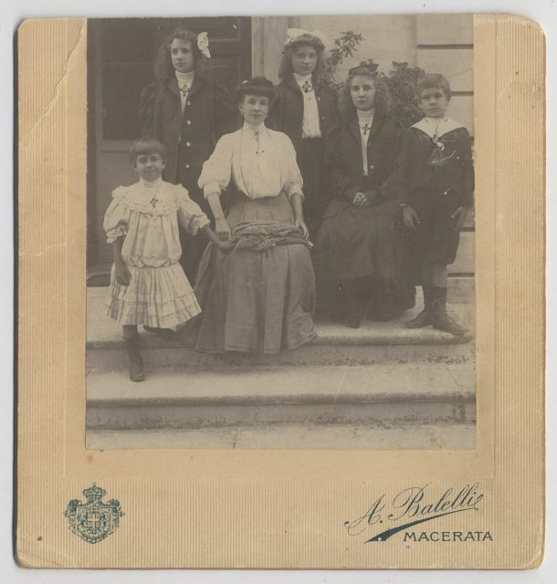 Familia Errázuriz Valdés en Italia