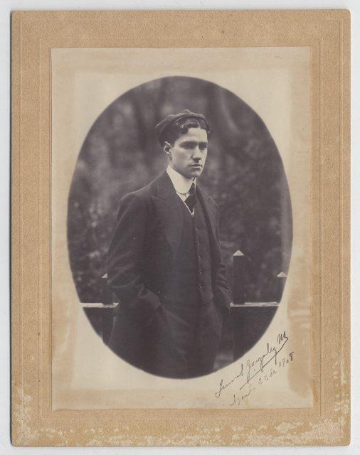 Retrato de Ismael González