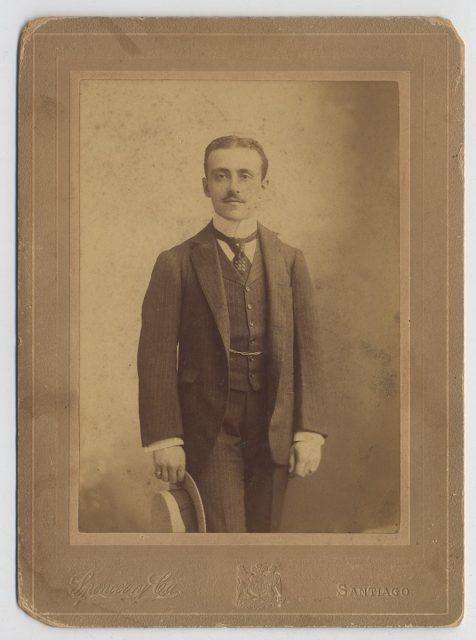Retrato de Aníbal Zañartu Iñiguez