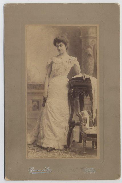 Retrato de María Gracia Gómez Zañartu