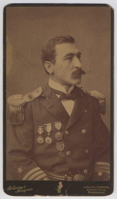 Retrato del capitán Arturo Fernández Vial