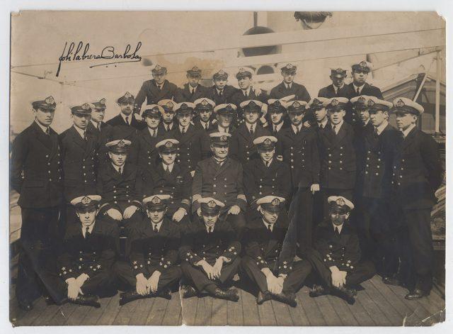 Grupo de marineros