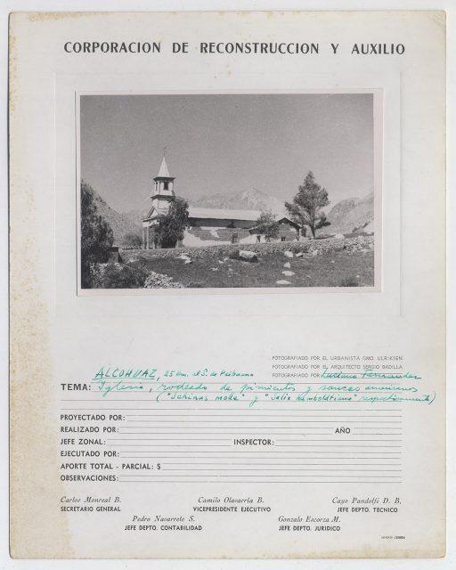 Iglesia de Alcohuaz
