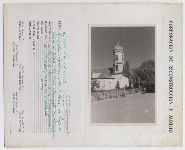 Cúpula cipolina de la iglesia de El Molle