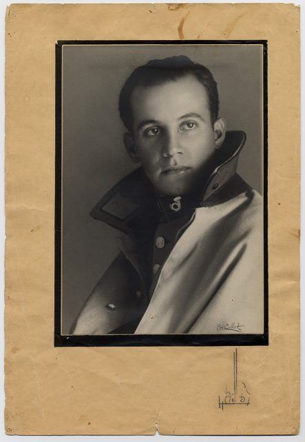 Retrato de un militar