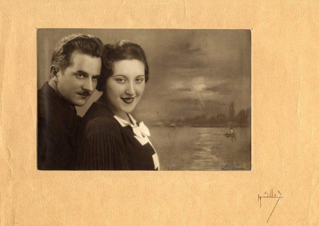 Retrato de Antonia Matic y Dinko Curo