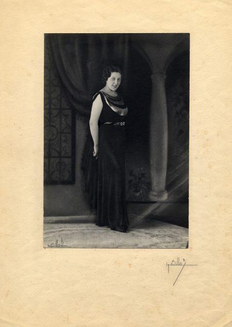Retrato de Antonia Matic Bulicic